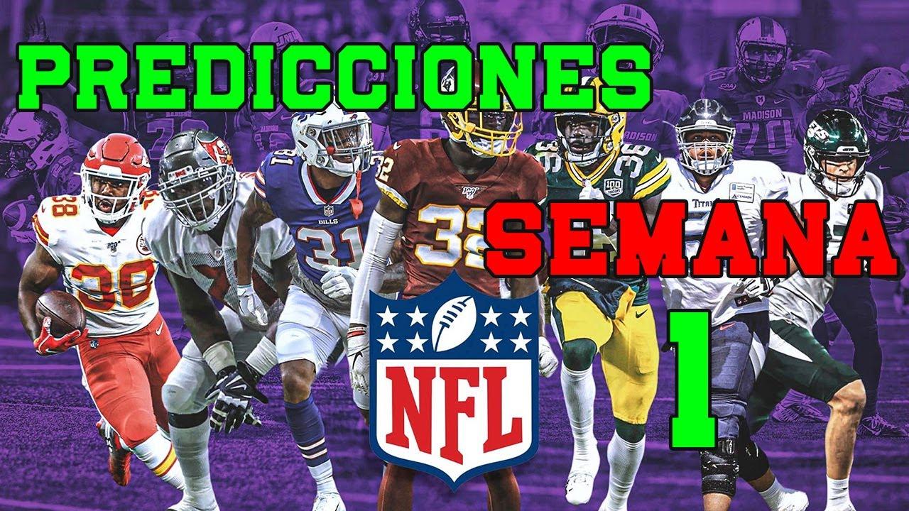 NFL Semana 1 Predicciones