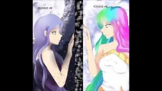 Lullaby for a princess Celestia & Luna duet nightcore