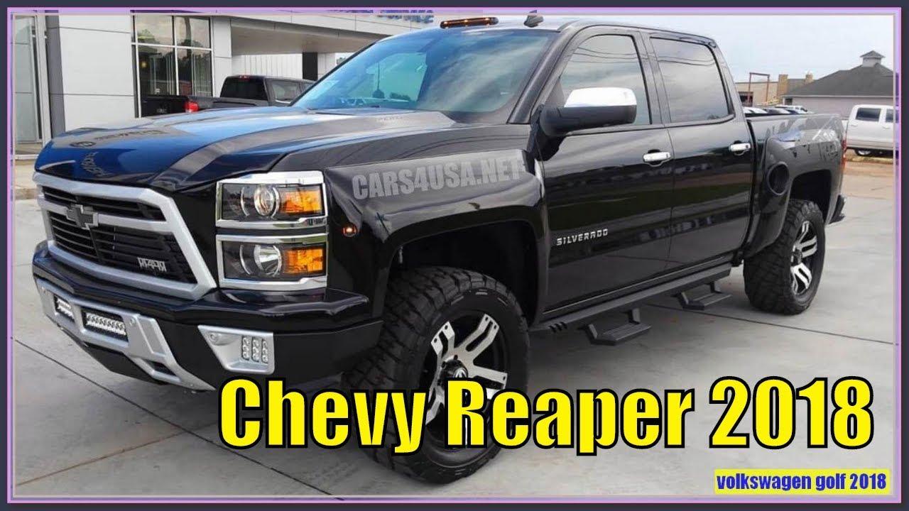Chevy Reaper 2018 2018 Chevy Silverado Reaper Pickup Review