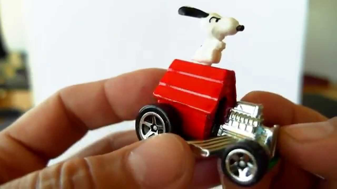 Quickie Car Review 2014 Hot Wheels Snoopy Carone Of The Hardest To Find Cars Or 2014
