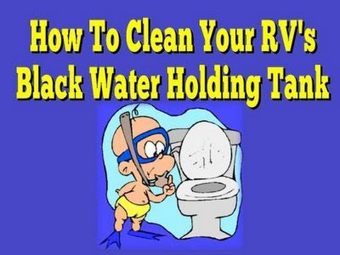 How to Dump and clean your RV Black tank