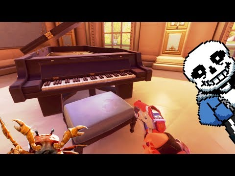 Playing Meme Songs & Undertale on the Overwatch Piano - Paris Map PTR Testserver ! thumbnail
