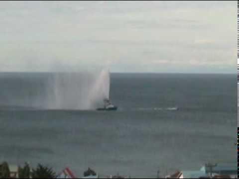 Punta Arenas despedida Regata Bicentenario parte 2