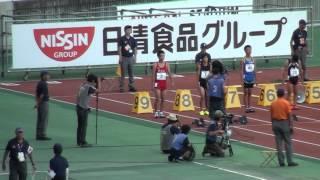 2015.8.22 全国小学生陸上 小6男子100m決勝