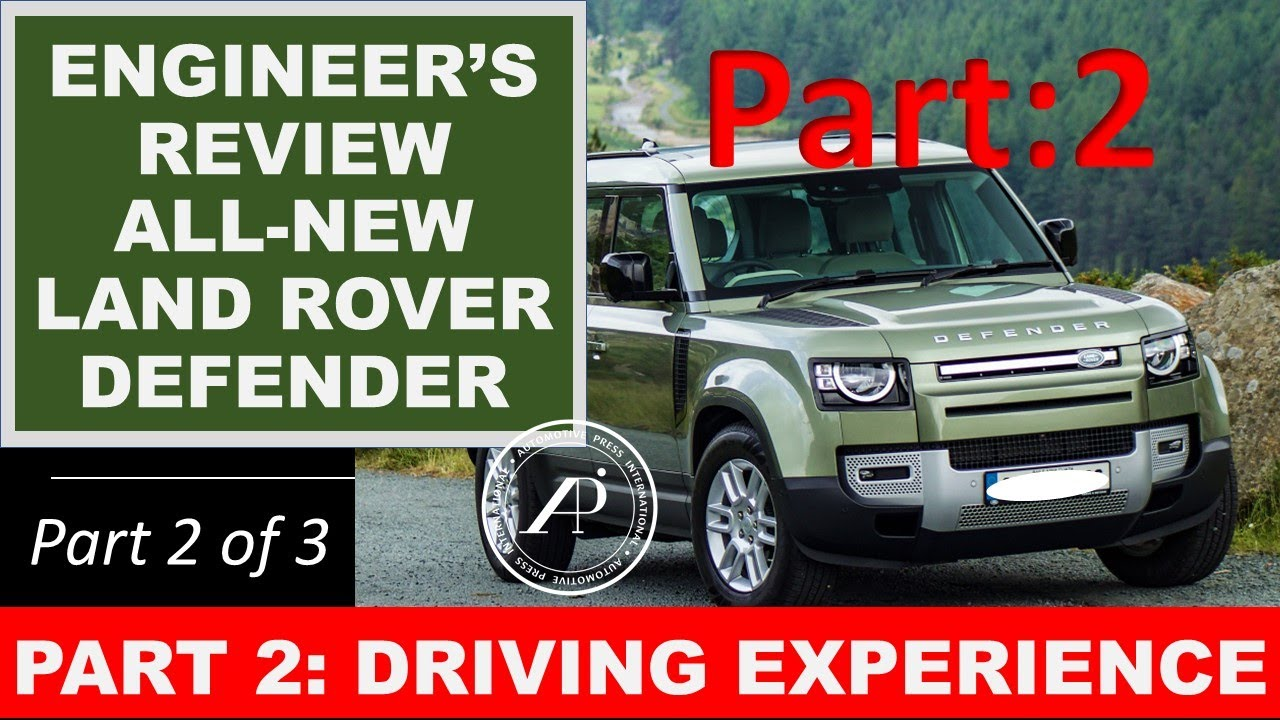 Engineer's Full Review of the All-New Land Rover Defender 110. Part 2: Driving Experience & Feel