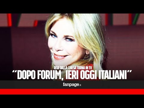 """Rita Dalla Chiesa: """"Ho ancora il magone per Forum. Tornerei a condurlo, ma non me lo chiedono"""""""