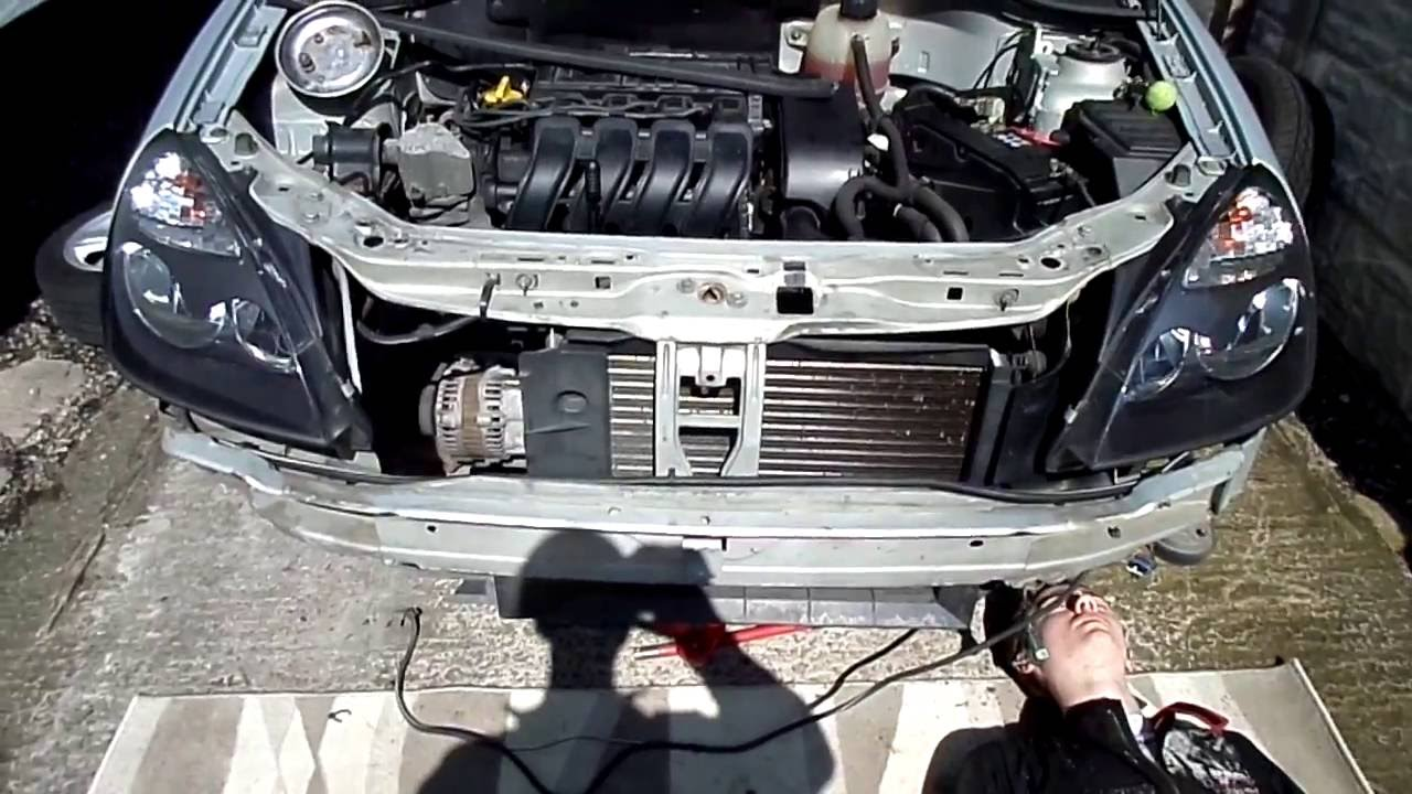Renault Clio Abs Sensor Ring And Bumper Removal Youtube