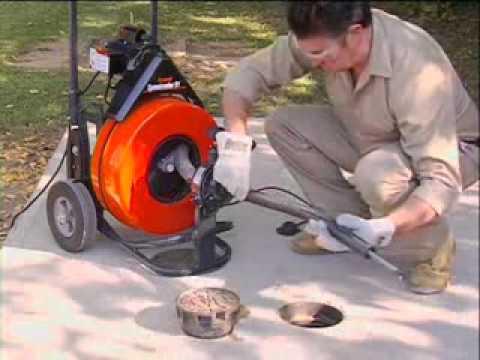 Как работают средства для прочистки засоров. Научный эксперимент .