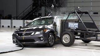 2013 Honda Accord 2-door side IIHS crash test