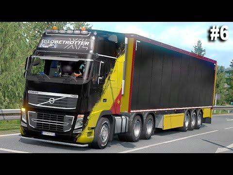 PERJALANAN LEWAT JALAN TOL   Volvo FH16 Classic - Euro Truck Simulator 2 Ep 6  