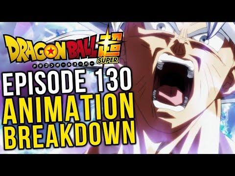 The Greatest Showdown! Episode 130 Animation Breakdown - Dragon Ball Super