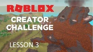 ROBLOX ~ Jurassic World / Creator Challenge Lesson 3 Guide!