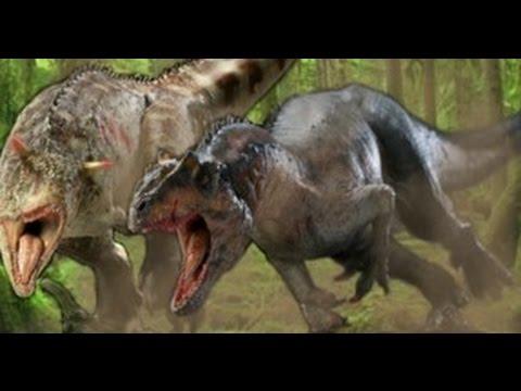Jurassic World Carnotaurus vs. Allosaurus