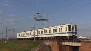 東武8000系8563F渡瀬~田島通過
