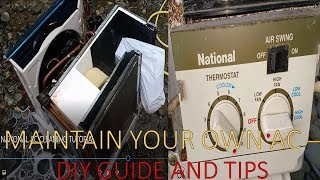 NATIONAL AIR CON CLEANING TUTORIAL + GUIDE and TIPS