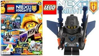 Журнал Лего Нексо Найтс №3 Апрель 2017 | Magazine Lego Nexo Knights №3 April 2017<