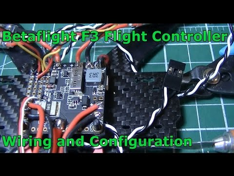 Betaflight F3 Flight Controller - Wiring and Configuration - YouTube