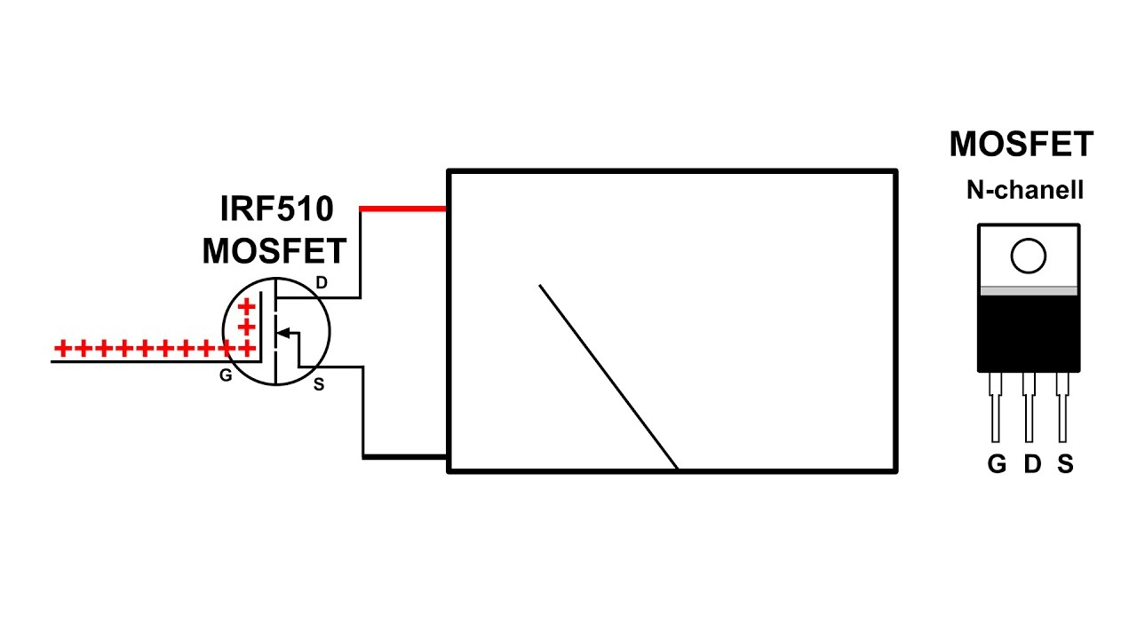 simple mosfet experiment