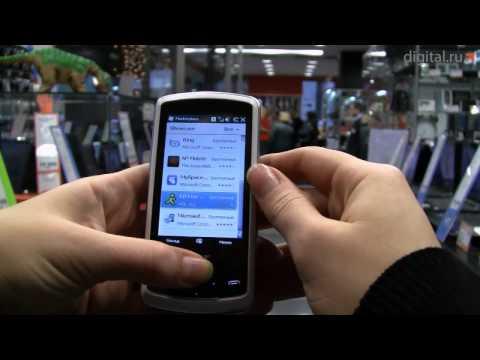 Видеообзор смартфона-слайдера Acer beTouch E200