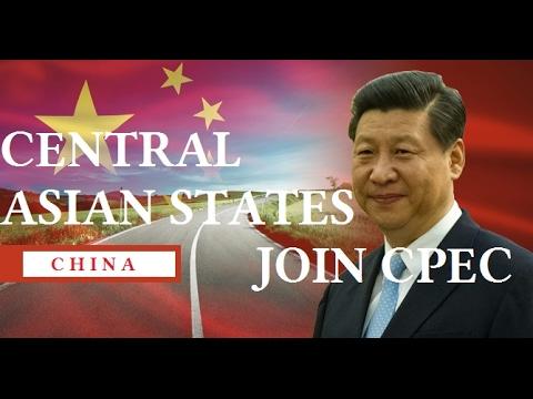 C P E C - Turkmenistan, Uzbekistan, Kazakhstan,  Tajikistan, Kyrgyzstan Join CPEC