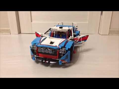 Гоночный автомобиль Lego Technic 42077 (360 градусов)