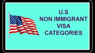 Video U.S Non Immigrant Visa Categories download MP3, 3GP, MP4, WEBM, AVI, FLV Juni 2018