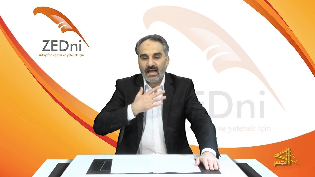 """سلسلة تعليم  اللغة التركية مع الدكتور """"محمد زبدية """" الحلقة (14)"""