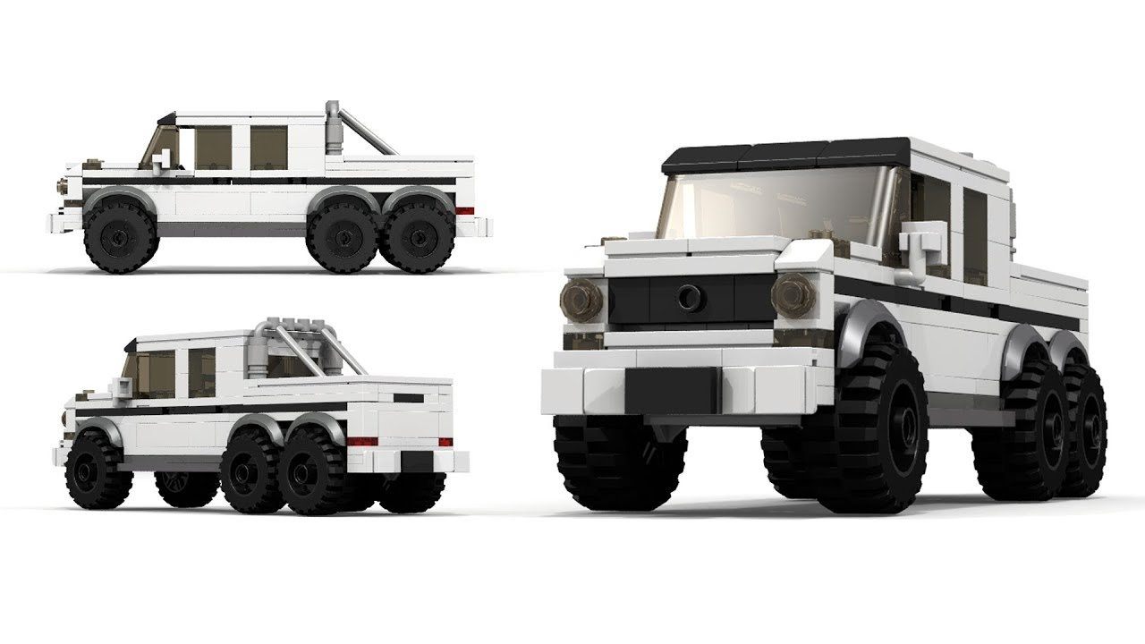 LEGO Mercedes-Benz G63 AMG 6x6 Tutorial