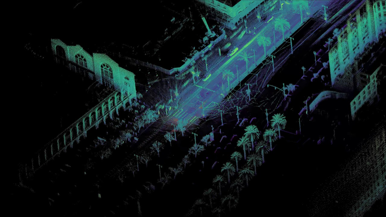 Lidar Mapping with Ouster 3D Sensors — Ouster Lidar