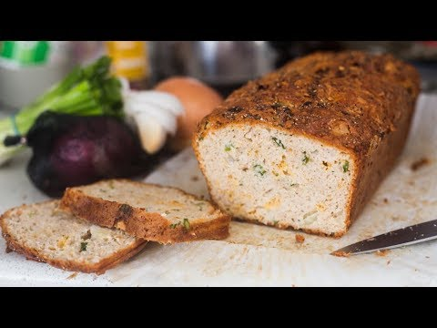 LOW CARB & KETO ONION BREAD (with cheese!)