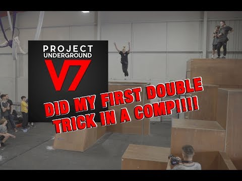 I Did My First Double Trick In A Competition! | Project Underground 7