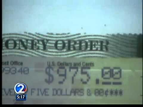 Action Line Fake Postal Money Orders Youtube