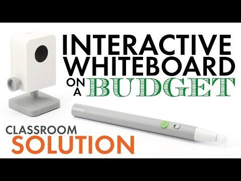 IPEVO, Low-Cost Interactive Whiteboard – SmartBoard Tech. on a Budget