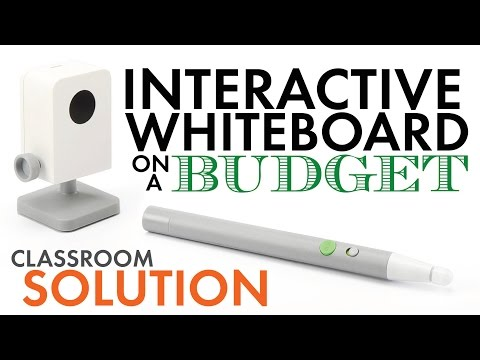 IPEVO, Low-Cost Interactive Whiteboard – SmartBoard Tech. on a Budget