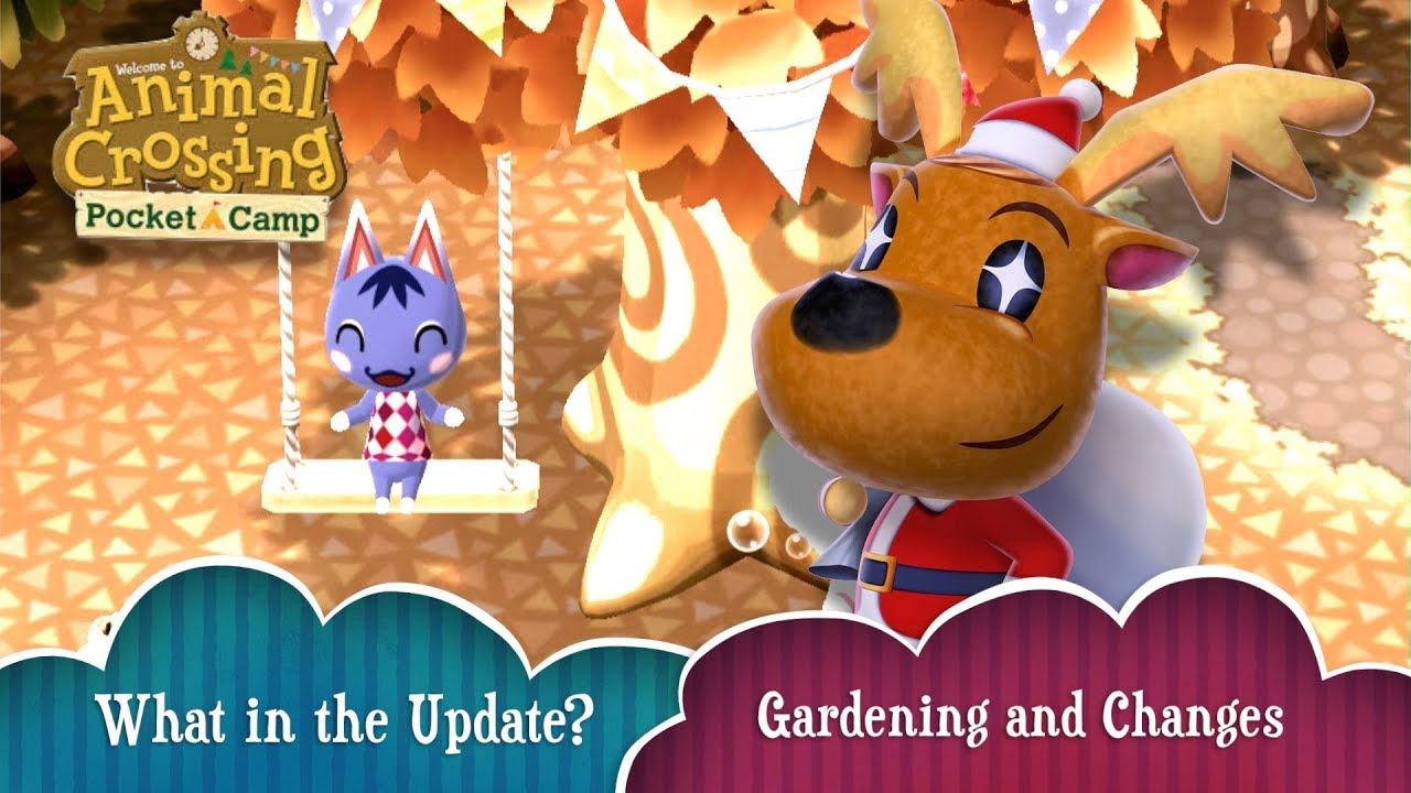 My Animal Crossing Changes Pocket Camp New Update Changes Crossing and Gardening   50dc8f