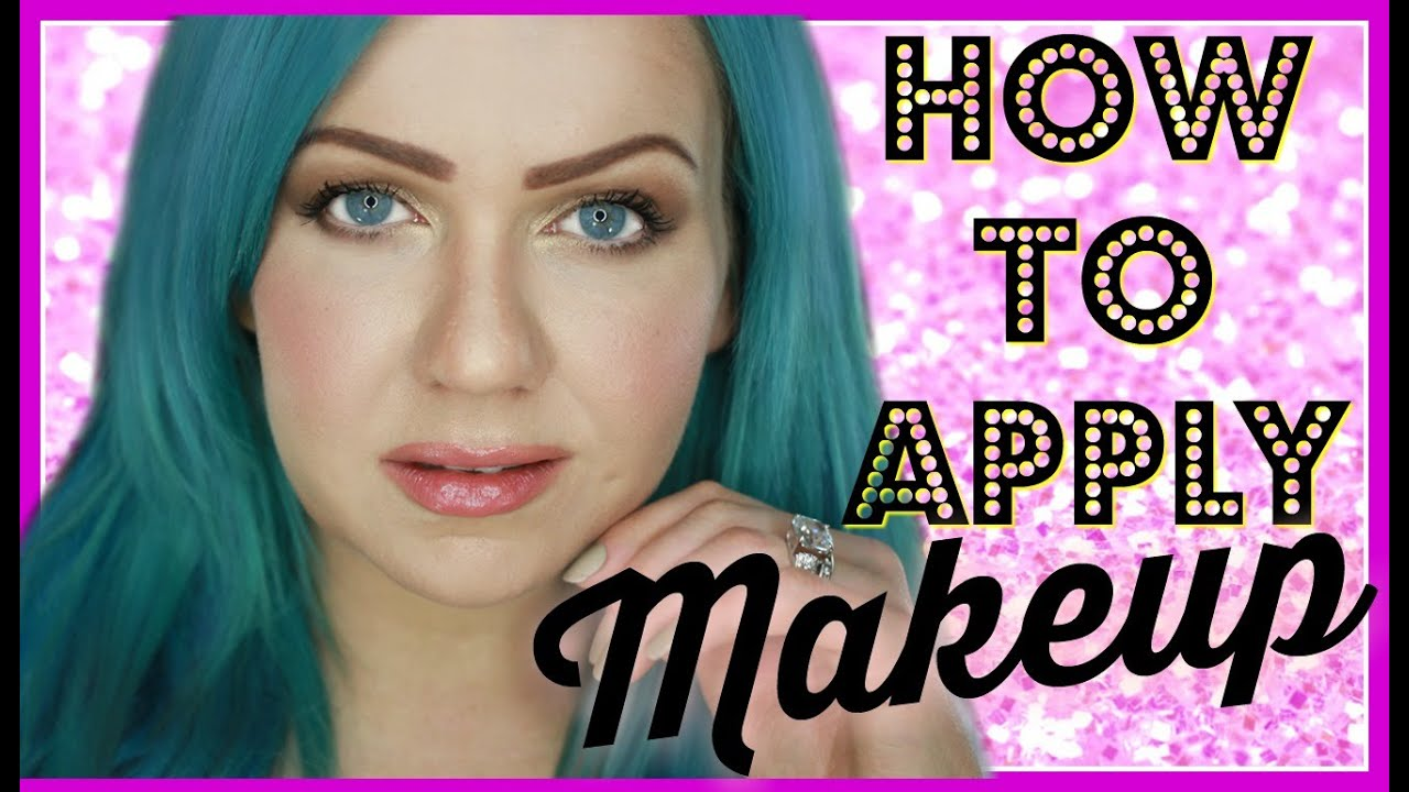 How To Apply Makeup Step By For Beginners Cover Girl Maybelline And Essence Cosmetics
