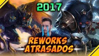 RETRASAN los REWORK de WARWICK y GALIO hasta 2017 | Noticias League Of Legends LOL