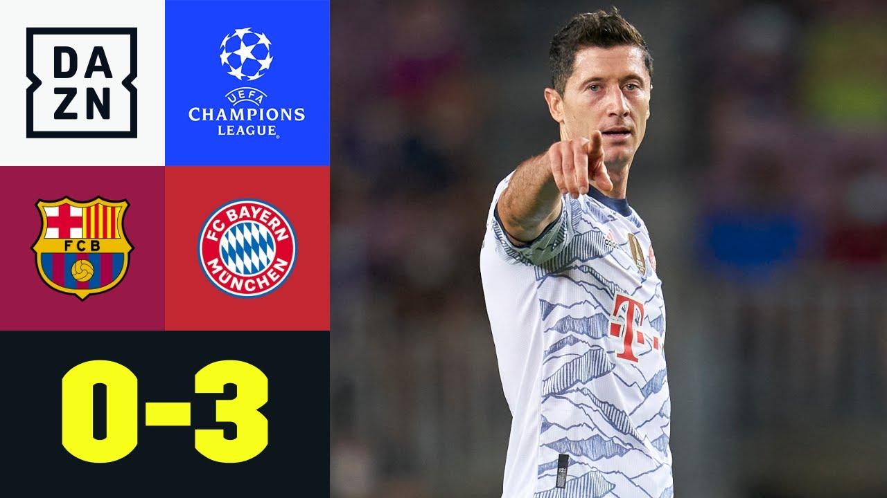 Download LewanGOALski trifft doppelt im Camp Nou: FC Barcelona - FC Bayern 0:3 | UEFA Champions League | DAZN