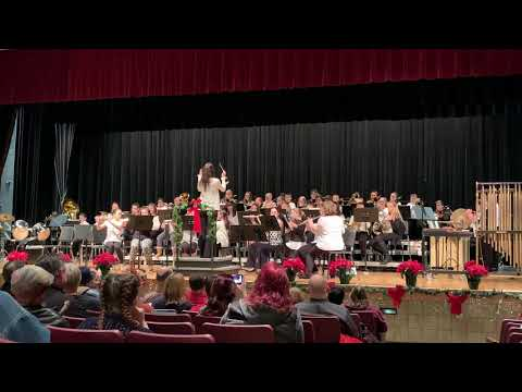 LaBrae Middle School's Sixth Grade Band