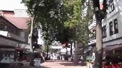 Spaziergang durch das Stadtzentrum in Bad Harzburg , 2014