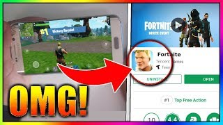 FORTNITE Android is ONLINE! - Official DOWNLOAD (Google Play Store)