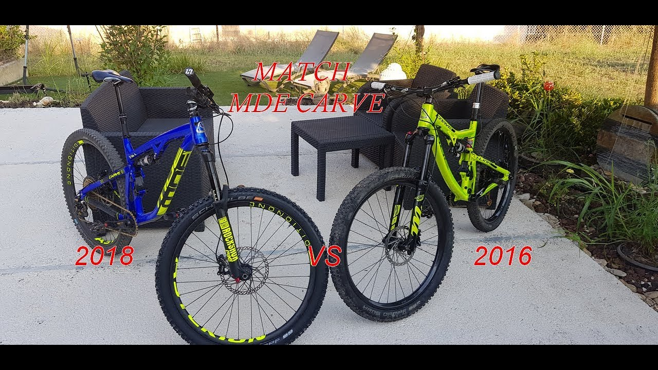 [MATCH MDE CARVE 2018 VS CARVE 2016] PRINCIPAUX CHANGEMENTS (4k)