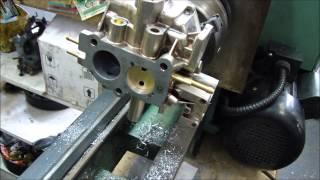 Saura - Veja como é feito uma retifica de carburador e como ficou as rodas do Monza