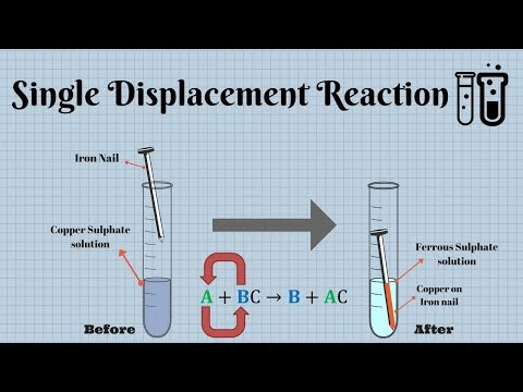 Single Displacement Reaction || Chemistry Experiment ▶️