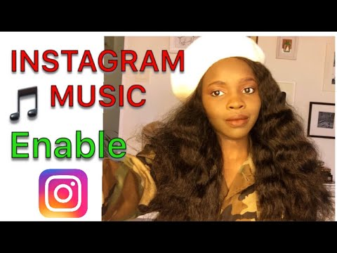 HOW TO ADD MUSIC  TO INSTAGRAM STORIES  | enable music feature on Instagram  / SARAH AND LUMI