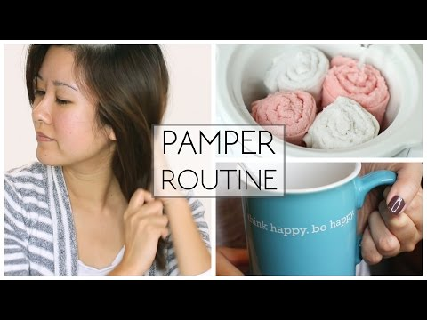 PAMPER ROUTINE | Easy DIY Facial!