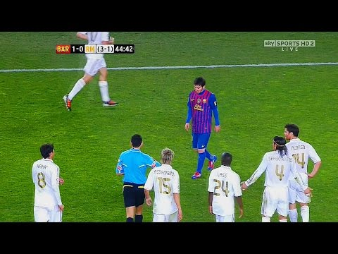 Thumbnail: 5 Times Messi Destroyed Whole Real Madrid Team Alone ►Single Handedly◄ ||HD||