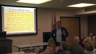 Friday Speaker Series: Highlights of Jefferson County History – November 2, 2018