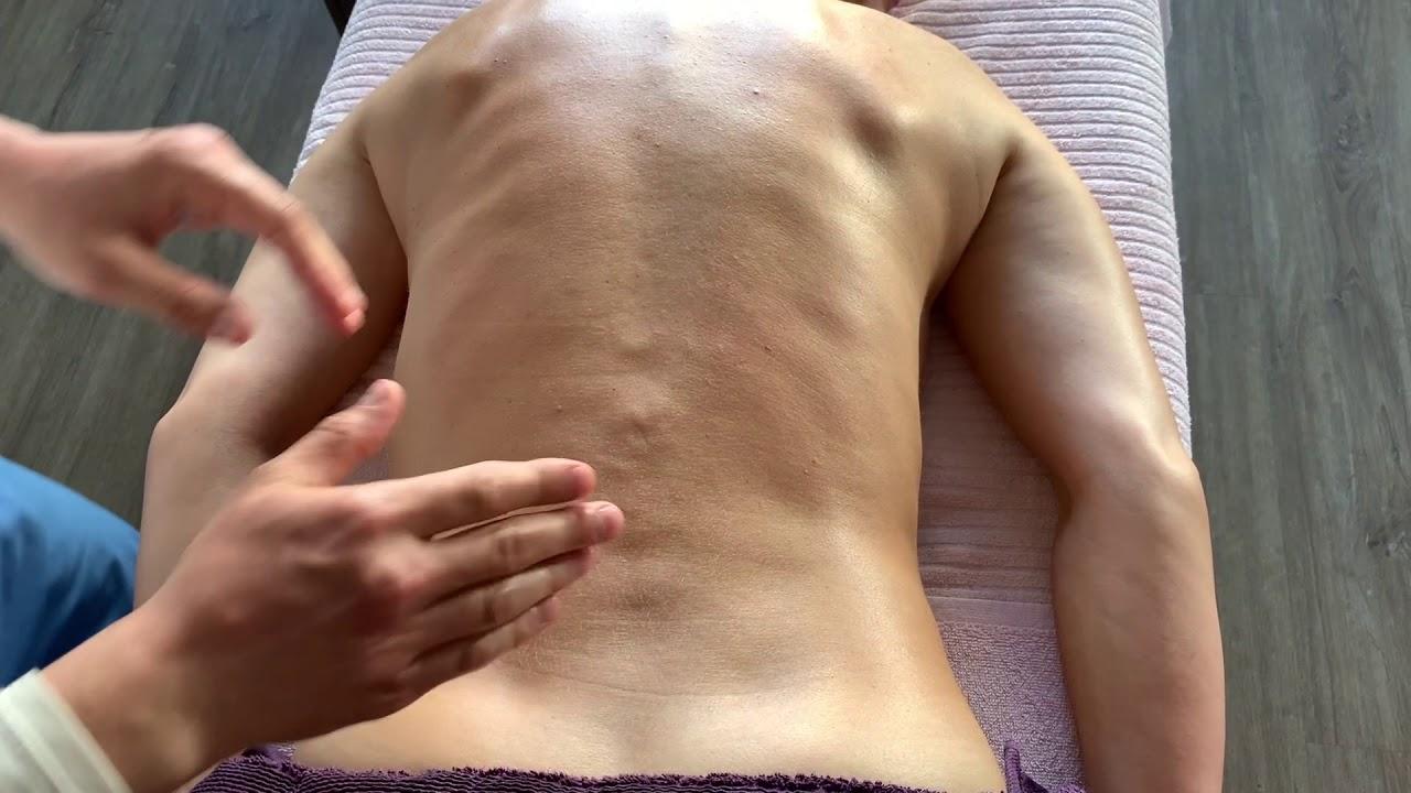 Медицинский массаж. Спина
