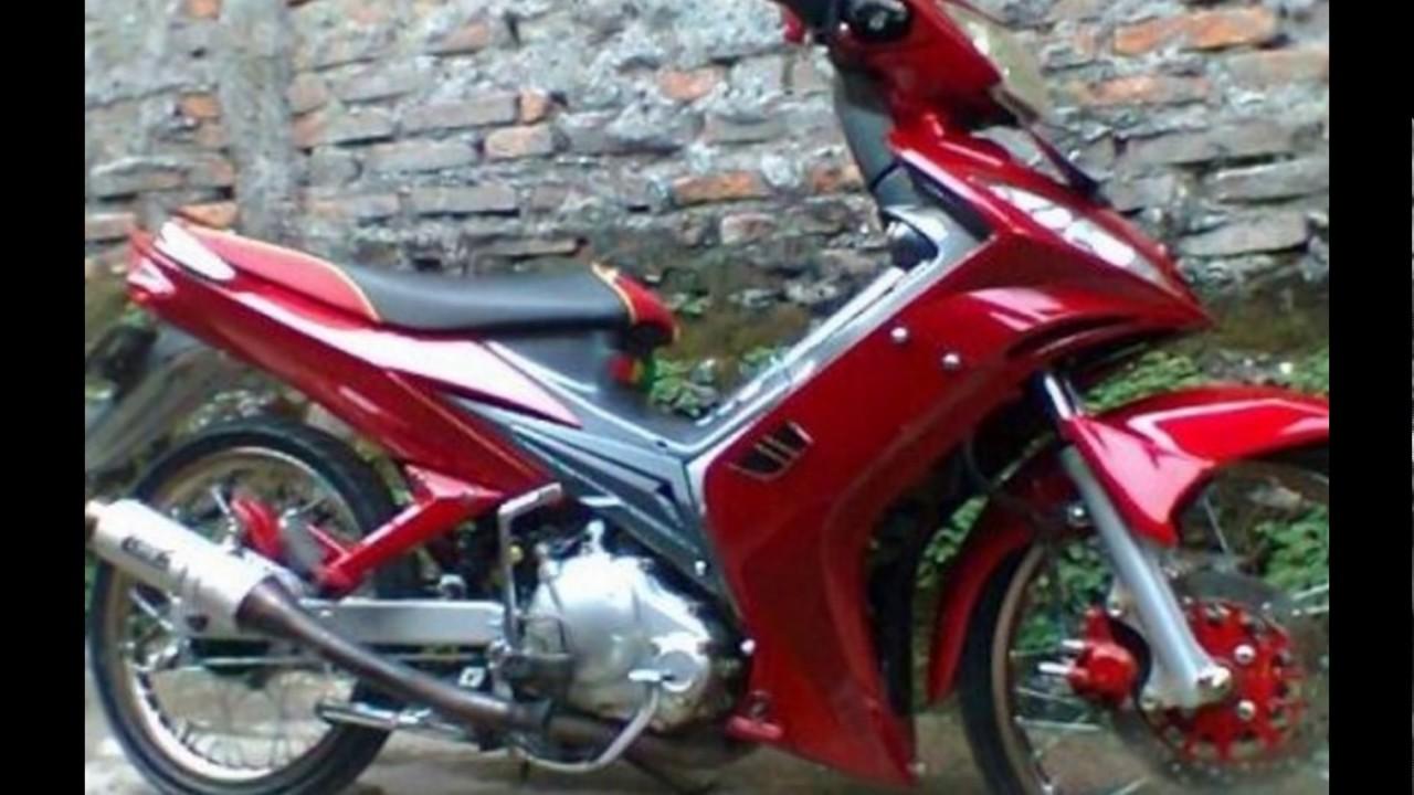Cah Gagah Video Modifikasi Motor Yamaha Jupiter MX Velg Jari